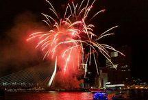 Fireworks feu d'artifice / Fireworks feu d'artifice vuurwerk