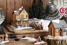 Department 56 - A Christmas Story Village / A heartwarming Christmas Classic that can be enjoyed by the whole family. A humorous tale of a young boy named Ralphie, with one thing on his Christmas list, a BB Gun.