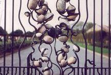 kovaná brána a ploty