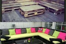 pallet outdoors furniture