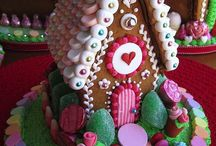 Gingerbread houses / by Allison Knox