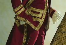 Handelsspex / 1700 talet, Kostymer, England, Spanien, kungligt, ekonomikris