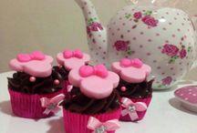 Cupcakes! / Decorados e de sabores variados