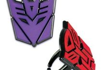 Transformers / A collection of Transformers themed items found on Niftywarehouse.com