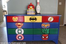 Hunter and Ryder 's room ideas / by April Newell-Sigwalt