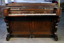 1850 - 1860 Piano Case Styles