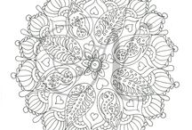 Doodles / Adult colouring pages / by NeecysNecessities