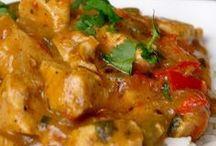 pittige curry kip