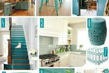 Decorating with Teal