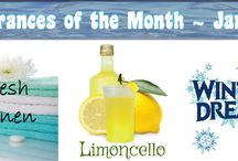 Soyl Scents - F.O.T.M. / Each month, Soyl Scents offers a Fragrance of the Month!  Comes in Room Sprays, Tart Chunks, Candle Gems and Gem Melters!