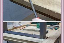 Tisch bauen