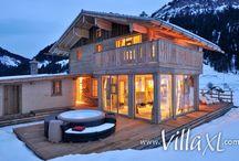 ☀ Wintersport / De mooiste vakantiehuizen in de populairste wintersportgebieden van Europa. Laat je inspireren!