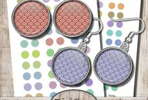 Patterns for Jewelry / Mixed Patterns for DIY Jewelry