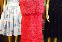 1960's vintage glamour / Fabulous dresses from the 60's