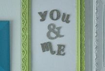Wall decor - Magnet boards / by Brandie Story