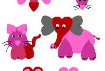 animaux coeur