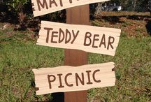 Teddy Bear picnic / birthday / by Karla Alanis