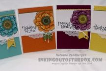 Blended Blossom Cards SU / by Patricia Lemont
