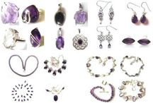 Amethyst Jewellery / Silver and amethyst jewellery