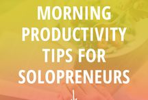Productivity Tips & Ideas / Looking for productivity tips and productivity ideas? In this board we will bring ideas and hacks to boost your productivity. It may be about time management, stay focused, about business, just to name a few.