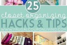 How to Get Organized / Easy tips & tricks for getting organized when you feel like you don't have the time! Home Organization, School Organization, Staying Organized, Planners, Free Printables