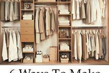 skříně a úložné prostory