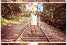 gender reveal photo ideas / by iliana morton