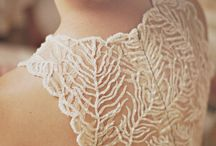 Intricate lace / beautiful lace garments and jewelry