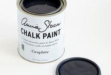 Graphite Chalk Paint® decorative paint by Annie Soan