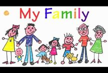 ESL Family / Family Theme or Unit for the Preschool and Elementary ELL
