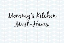 Mommy's Kitchen Must-Haves / Mommy's Kitchen Must-Haves  #mommy #kitchen #kitchengifts #kitchenware #dreamkitchen #parents #mommytobe #parents #cincyparent #mommysdreamteam #dreamteam #motherhood #newmom #newborn #housewares