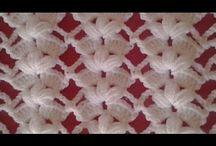 videos puntos crochet