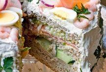 smörgåstårtor o tårtor