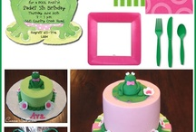 Frog birthday party ideas