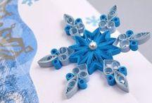 Vánoční quiling