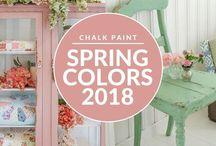 Chalk paint color ideas