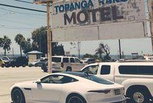 Adventure awaits. #FTYPE #SportsCar #Driving #Adventure #LA - photo from jaguar http://ift.tt/1EOE9TW