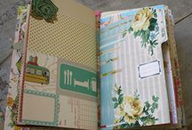 Smash Book Journaling and Project Life Scrapbooks / Beautiful ways to scrapbook and journal the story of my life. #scrapbooking #travel #journal #TidyUpSTL #organize