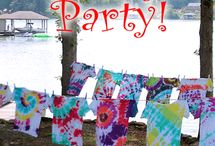 Tie Dye party / by Carrie Hutchings