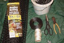 Making a crawfish trap
