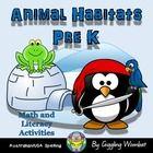 Animal Habitats Pre K