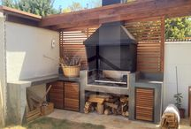 Where I want to cook / Out door kitchens and BBQs