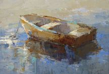 csónak, tenger