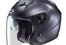Motorcycle helmets open face