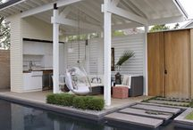 Outdoor rooms / Outdoor living