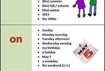 İngilizce ders materyalleri