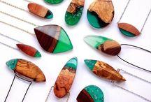 Šperky - pryskyřice
