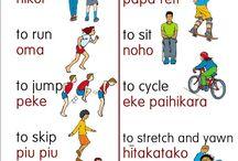 Te Reo Māori / Māori Language and resources