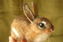 needle felting / by Louise MacLarty