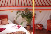 Mongolske Yurts